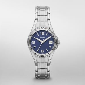 Sport Stainless Steel Blue Dial