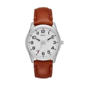 Ladies Brown Leather Strap