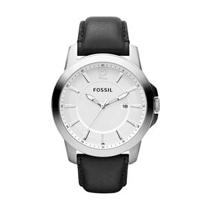 Classic Casual Black Leather Men's Watch