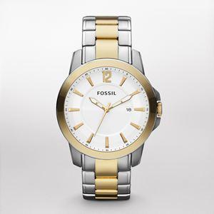 Men's Two Tone Dress Watch