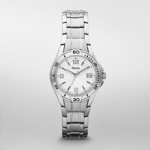 Ladies Silver Dial Sports Watch