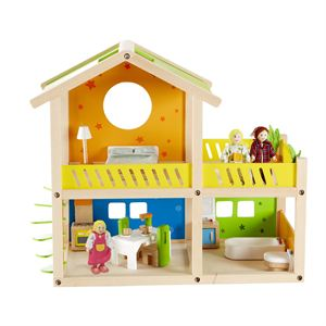 Happy Villa Wooden Doll House