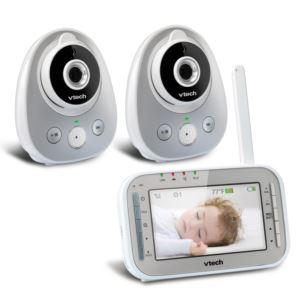 Safe & Sound 2 Camera Video Monitor w/ Wide Angle Lens