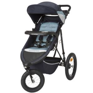 Interval Jogging Stroller Stone Blue
