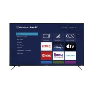 """58"""" 4K Ultra HD Smart Roku TV with HDR"""