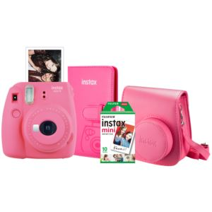 Instax Mini 9 Super Bundle Flamingo Pink