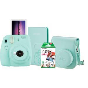 Instax Mini 9 Super Bundle Ice Blue