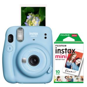 Instax Mini 11 Instant Camera w/ 10 Count Film