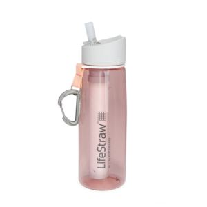 LifeStraw Go Filtered Water Bottle Coral