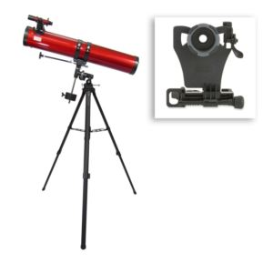 Red Planet Telescope w/ Smartphone Adapter Bundle