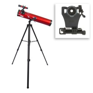 Red Planet Telescope w/ Smartphone Phone Adapter Bundle