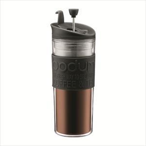 Travel Press Coffee maker 15 oz Black