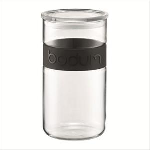 Presso 68 oz. Storage Jar-Black