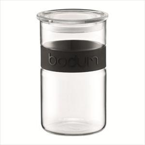 Presso 34 oz. Storage Jar-Black