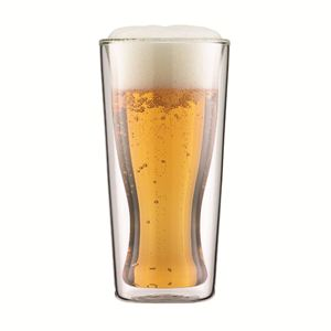 Skal Double Wall 12 oz. Beer and beverage glass
