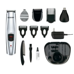 13pc. Rechargeable Beard/Mustache Facial Trimmer