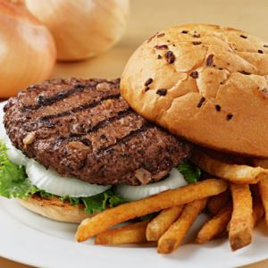 12 (4.5oz) Sweet Vidalia Onion Steakburgers
