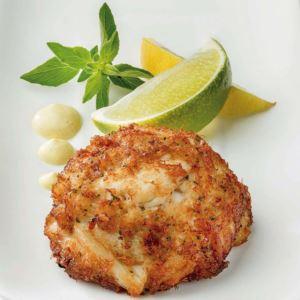 4 (3oz) Maryland Style Lump Crab Cakes