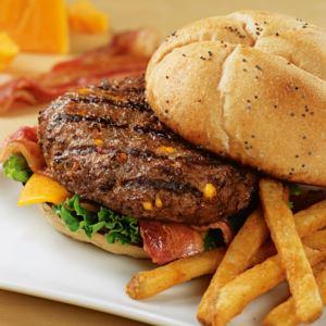 12 (4.5oz) Cheddar Bacon Steakburgers