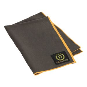 Natural Fitness - Yoga Mat Towel - Carbon, Sun