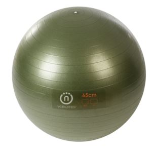 Natural Fitness - PRO Burst Resistant Exercise Ball - 65cm - Small - Olive