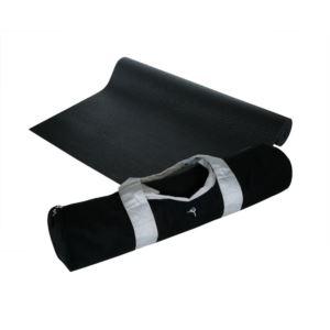 "Yoga Sport Bag Black & Yoga Mat 1/8"" Black"