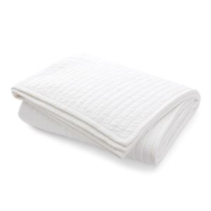 Devon Cotton Quilt Bedding - (King) - (White)