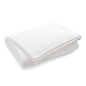 Devon Cotton Quilt Bedding - (Queen) - (White)