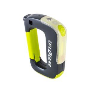 Life+Gear USB Rechargeable Clip Light Flashlight