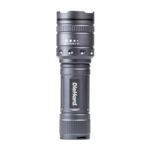DieHard Twist Focus 1000 Lumen Aluminum Flashlight