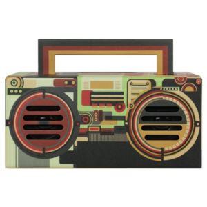True Wireless Stereo (TWS) Portable Bluetooth Speaker - Rock & Roll