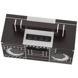 True Wireless Stereo (TWS) Portable Bluetooth Speaker - Boom