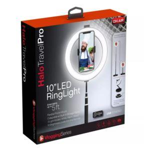 Halo Travel Pro 10 - Inch LED Ring Light - (Black)
