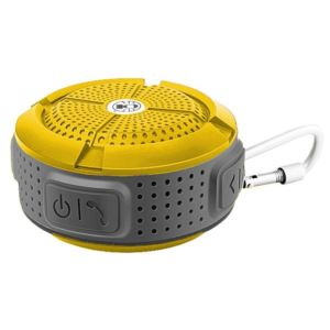 Waterproof Bluetooth Speaker - Yellow