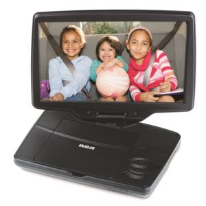"10"" Portable DVD Player w/ Swivel Screen"