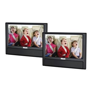 "9"" Dual Screen Mobile DVD Player"