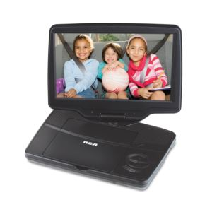 "9"" Portable DVD Player w/ Swivel Screen"