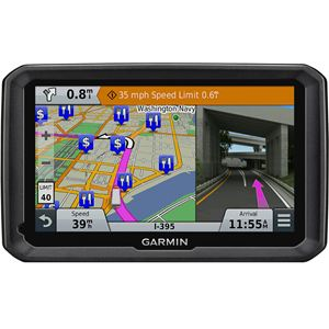 7 In. Truck Navigator with Lifetime Maps and Lifetime HD Digital Traffic