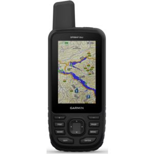 Handheld Hiking GPS with Sensors and TOPO Maps
