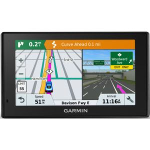 Drive Smart 51 GPS Navigator with Built-In WiFi plus Lifetime Maps and Traffic of North America