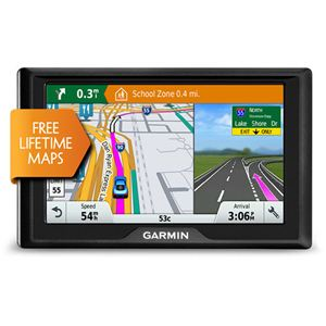 Drive 5 In. GPS Navigator with LIFETIME Maps of U.S.