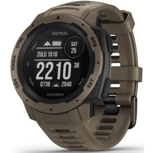 Instinct Tactical GPS Watch in Coyote Tan