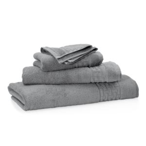 Pierce 3-Piece Towel Set - Charcoal Grey