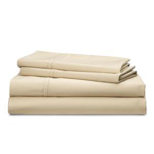 Spencer Queen Size Sheet Set-Flax