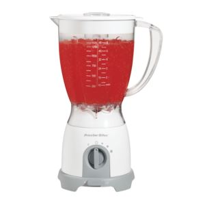 8 Speed Space Saving Blender - white
