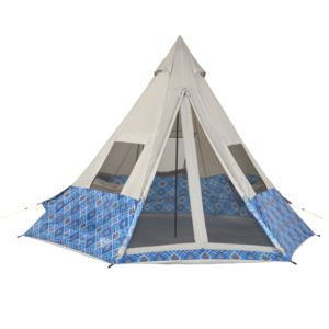Shenanigin Tribute Tent - Blue Geo