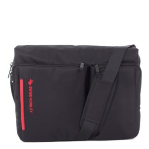 "Stride Messenger Bag,"" Black"