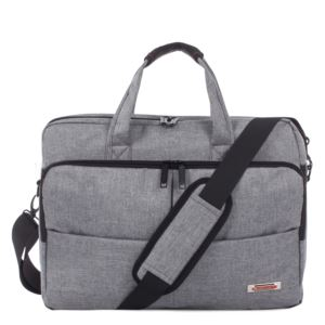 Sterling Slim Breifcase, Gray