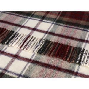 Tartan Merino Lambswool Blanket