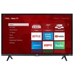 """32"""" 1080p LED TV With Roku"""